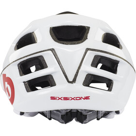 SixSixOne Recon Scout Helm white/red